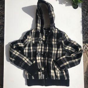 Delia's Plaid Jacket